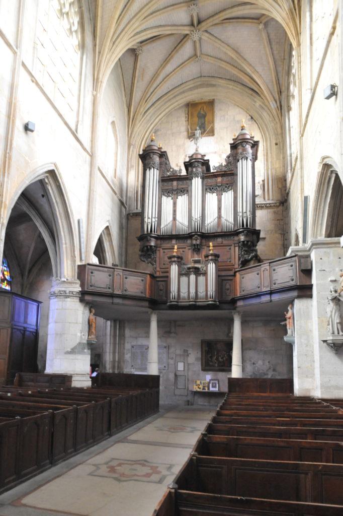 Orgue de la Collégiale Notre-Dame des Arts de Pont de l'Arche