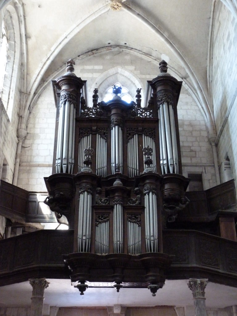 Orgue de l'Eglise Saint Sauveur des Andelys
