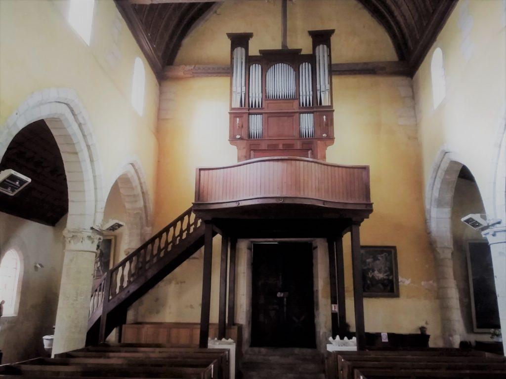 Orgue de l'Eglise Saint Georges d'Aubevoye