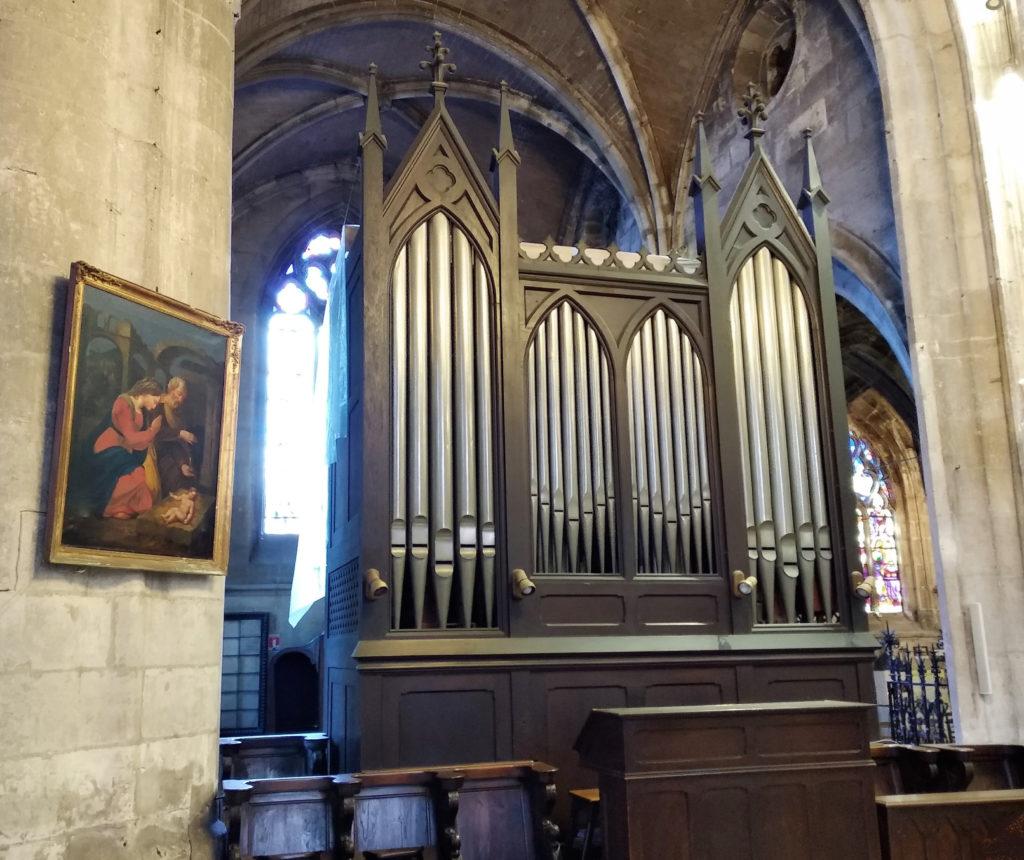Orgue de choeur de Notre-Dame de Louviers